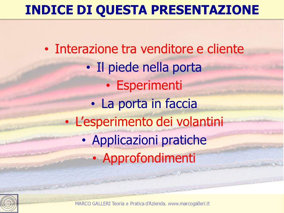 5 MARCO GALLERI Teoria e Pratica d'Azienda.