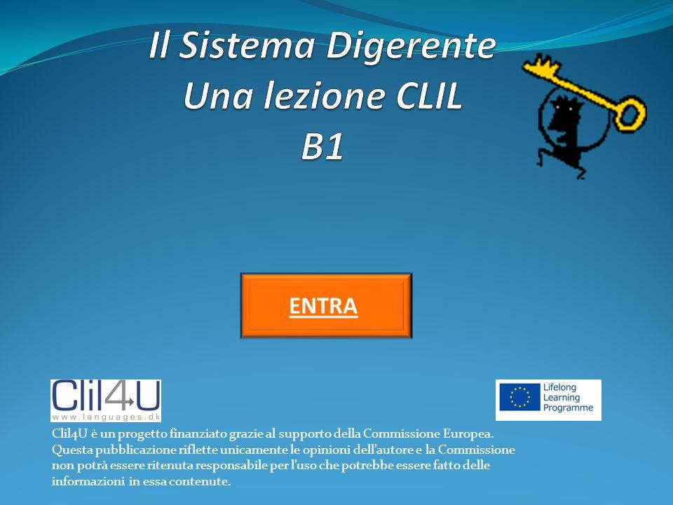 ENTRENTRA Clil4U è un progetto finanziato grazie al supporto della Commissione Europea. Questa pubblicazione riflette unicamente le opinioni dell'auto