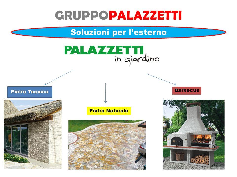 GRUPPOPALAZZETTI Soluzioni per l'esterno Pietra Tecnica Pietra Naturale Barbecue