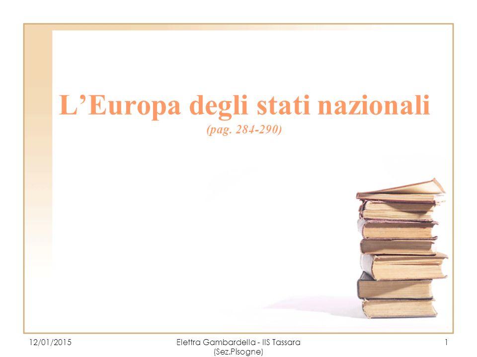 L'Europa degli stati nazionali (pag.