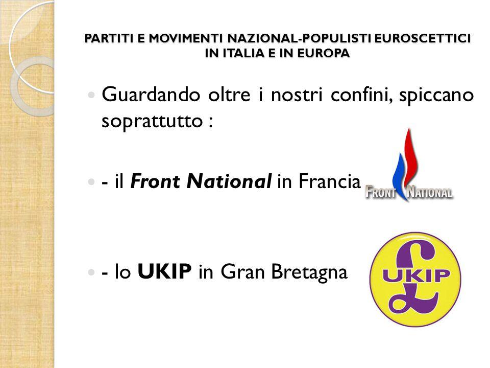 IL CASO UKIP Lo United Kingdom Independence Party, meglio noto con l'acronimo UKIP, fu fondato nel 1993 da Alan Sked e ad esso aderirono i membri della Anti-Federalist League, che si opposero fortemente al Trattato di Maastricht e alla sua ratifica.