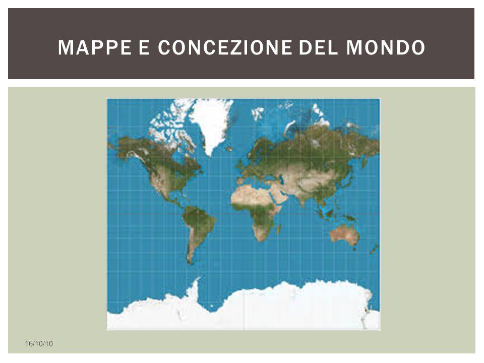 16/10/10 PROIEZIONE DI MERCATORE
