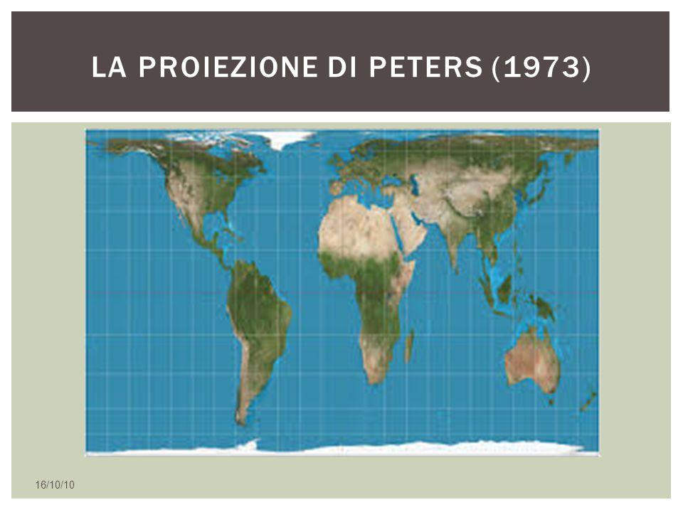 16/10/10 LA PROIEZIONE DI PETERS (1973)