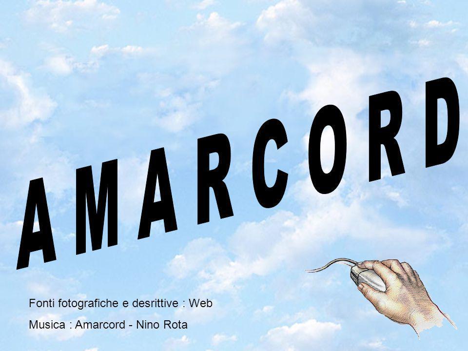 Fonti fotografiche e desrittive : Web Musica : Amarcord - Nino Rota