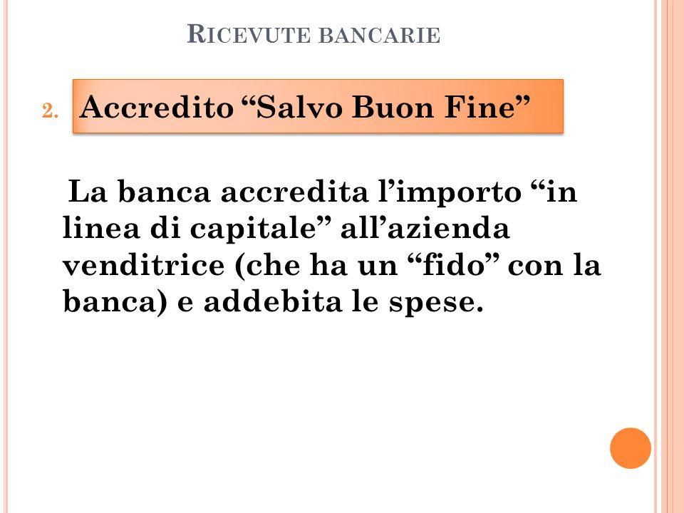 R ICEVUTE BANCARIE 2.