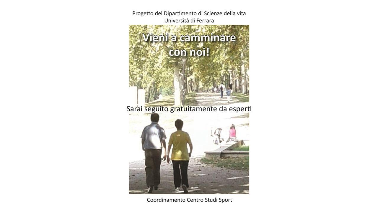 Obiettivo del progetto: promuovere l'attività fisica di adulti e anziani sedentari.