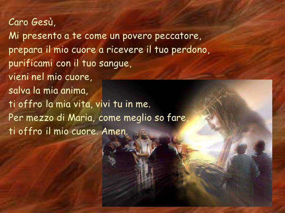Preghiera per la Quaresima Signore Gesù, Credo che sei il Figlio di Dio, credo che sei venuto sulla terra e sei morto sulla croce per me, credo che ha