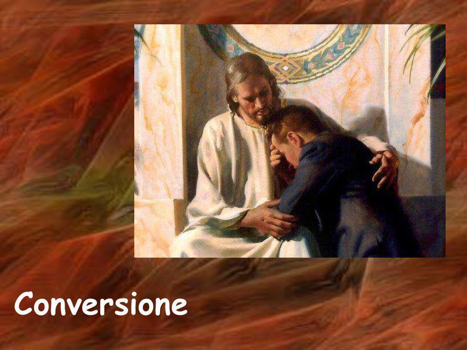 Caro Gesù, Mi presento a te come un povero peccatore, prepara il mio cuore a ricevere il tuo perdono, purificami con il tuo sangue, vieni nel mio cuore, salva la mia anima, ti offro la mia vita, vivi tu in me.