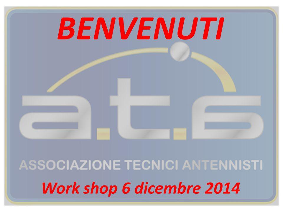 BENVENUTI Work shop 6 dicembre 2014