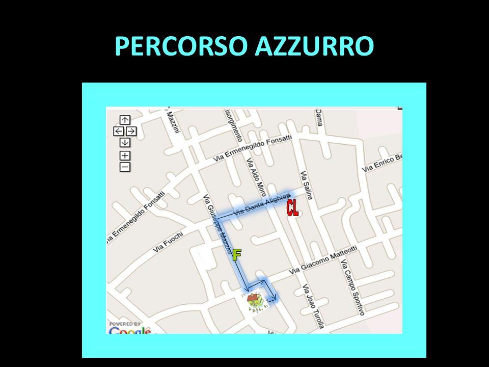 PERCORSO AZZURRO