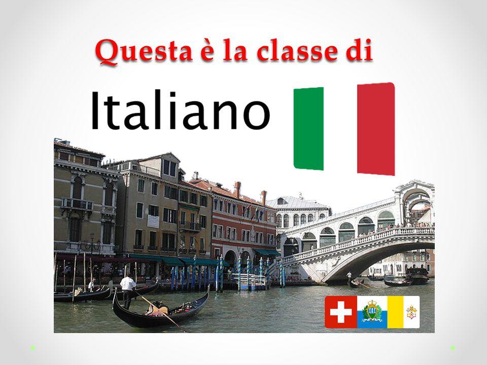 Io sono nata in Italia