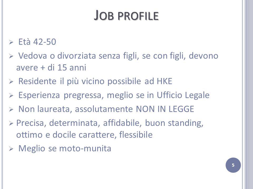 S ISTEMA DI VALUTAZIONE 1/3 Prima selezione Età: 42-50 anni Residenza: Roma Titolo di Studio: Diploma di Maturità 6