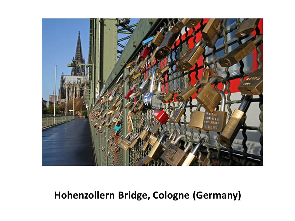 Hohenzollern Bridge, Cologne (Germany)