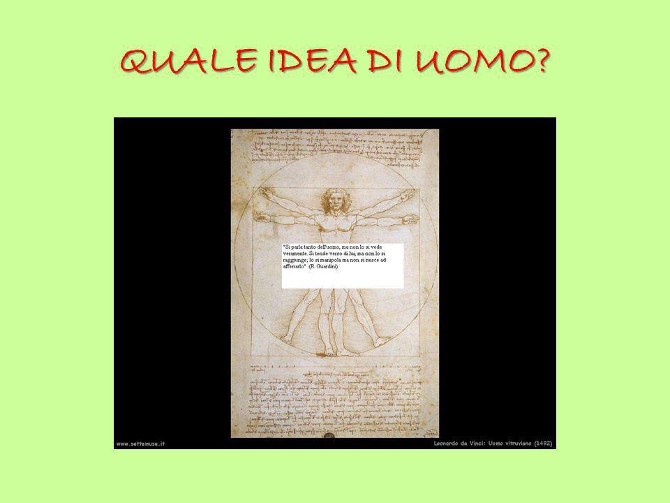 QUALE IDEA DI UOMO?