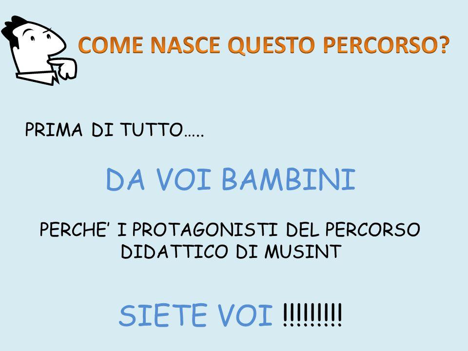 PRIMA DI TUTTO…..
