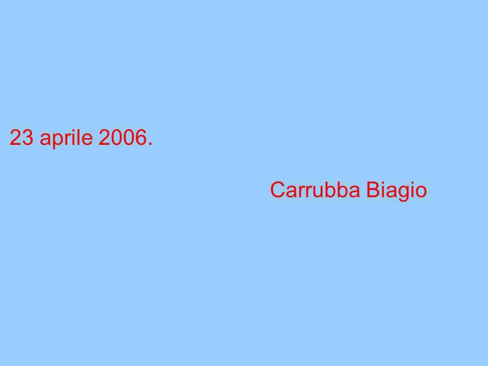 Io, (Biagio Carrubba) ritorno a gioire e a rivivere, ritorno ad amare la natura, la Sicilia, l'Italia e la vita.