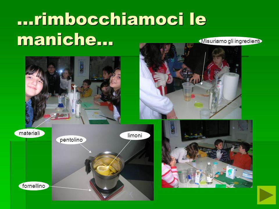 4° esperimento : ecotrucchi Scopo:produzione di un detersivo biologico per lavastoviglie. Materiali:3 limoni,400ml di acqua,200ml di aceto e 200gr di
