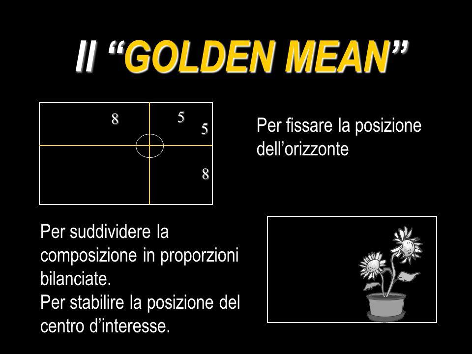 Quale delle foto qui sotto è un esempio di Golden Mean ?