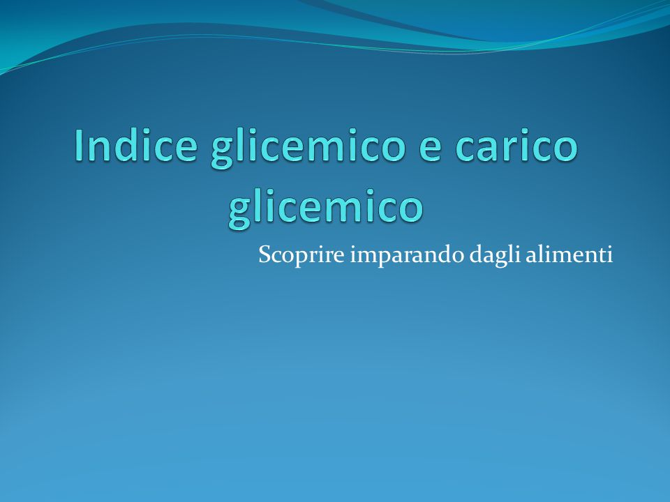 IG = Indice Glicemico L'indice glicemico descrive la qualità dei carboidrati contenuti negli alimenti Indica la capacità di un determinato alimento di innalzare la glicemia rispetto ad alimenti standard quali il pane bianco e lo zucchero