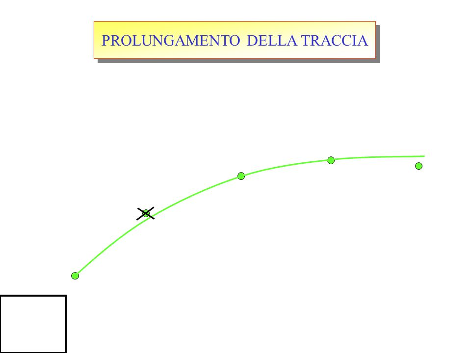 PROLUNGAMENTO DELLA TRACCIA