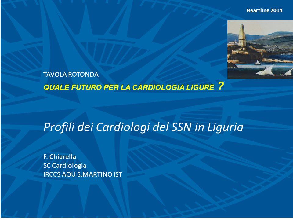 Heartline 2014 TAVOLA ROTONDA QUALE FUTURO PER LA CARDIOLOGIA LIGURE .