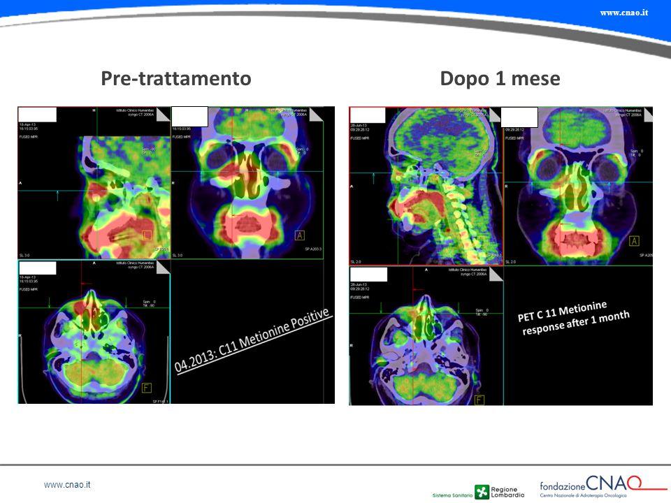 www.cnao.it Pre-trattamentoDopo 1 mese