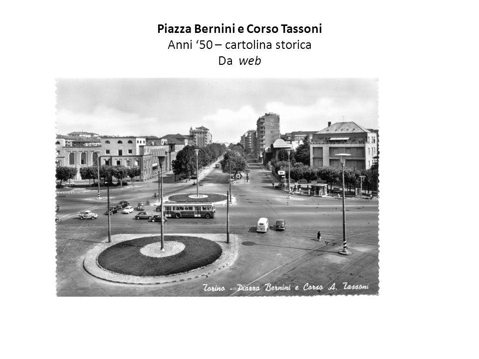 Piazza Bernini e Corso Tassoni Anni '50 – cartolina storica Da web