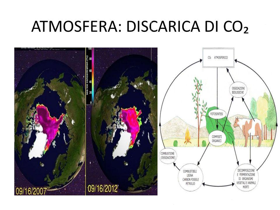 ATMOSFERA: DISCARICA DI CO₂
