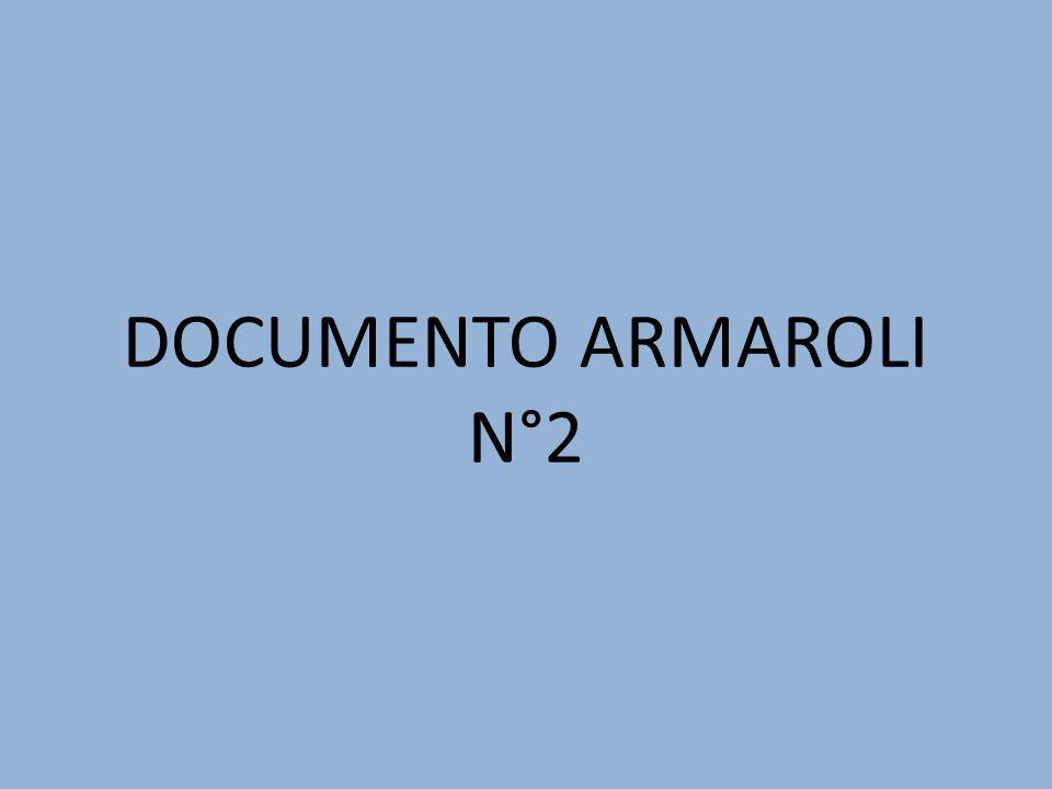 DOCUMENTO ARMAROLI N°2