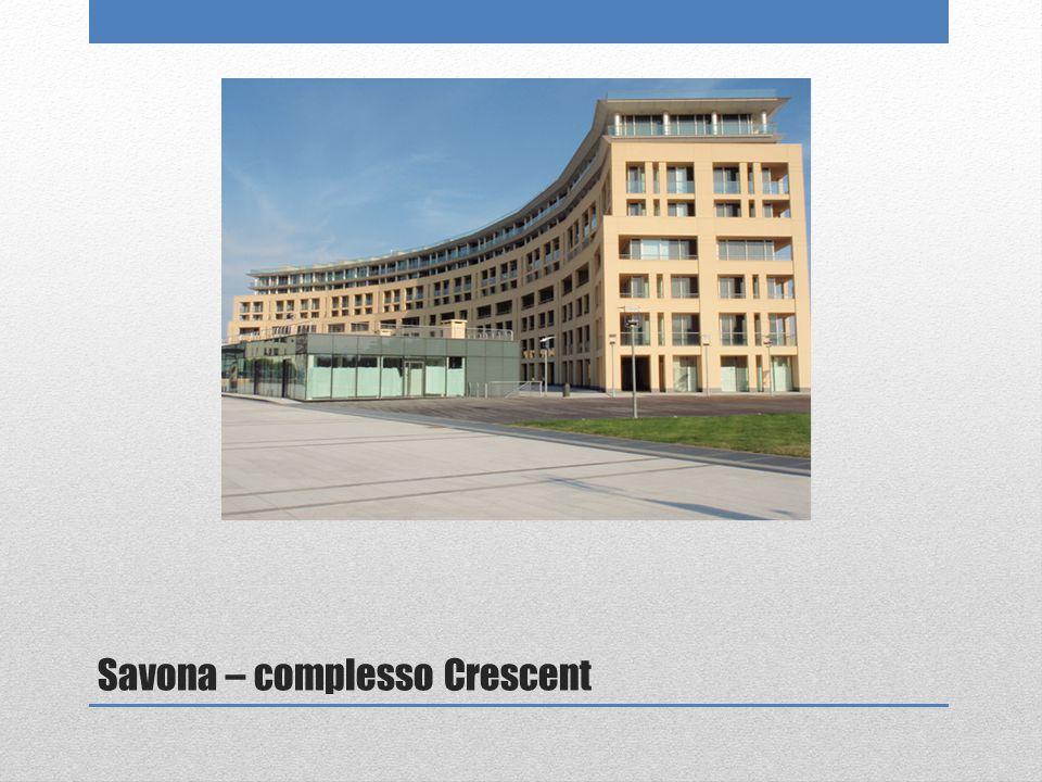 Savona – complesso Crescent