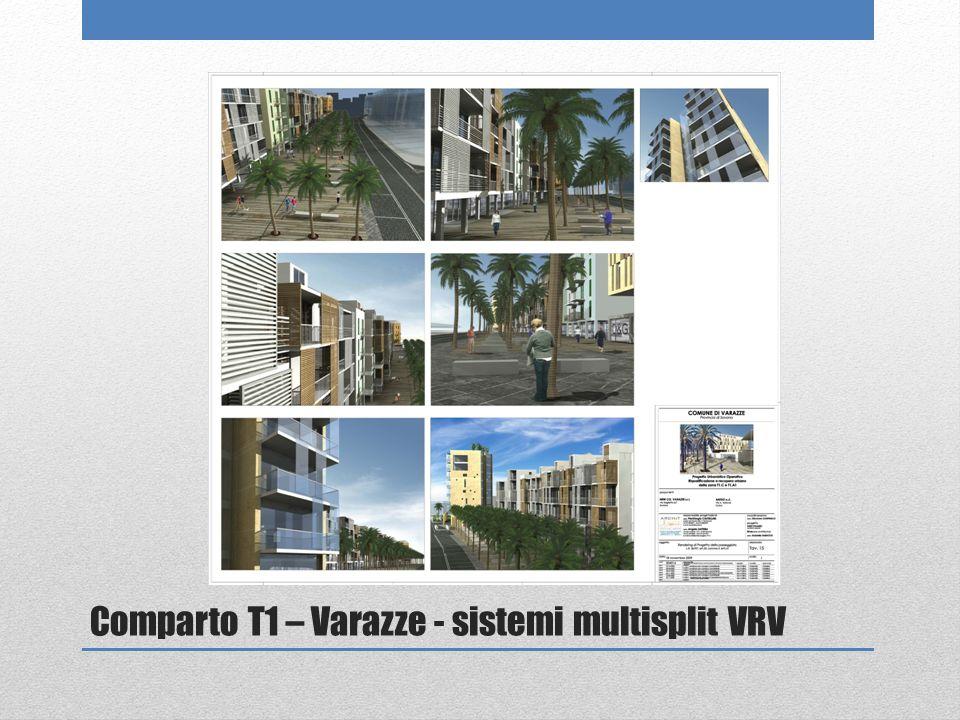 Comparto T1 – Varazze - sistemi multisplit VRV