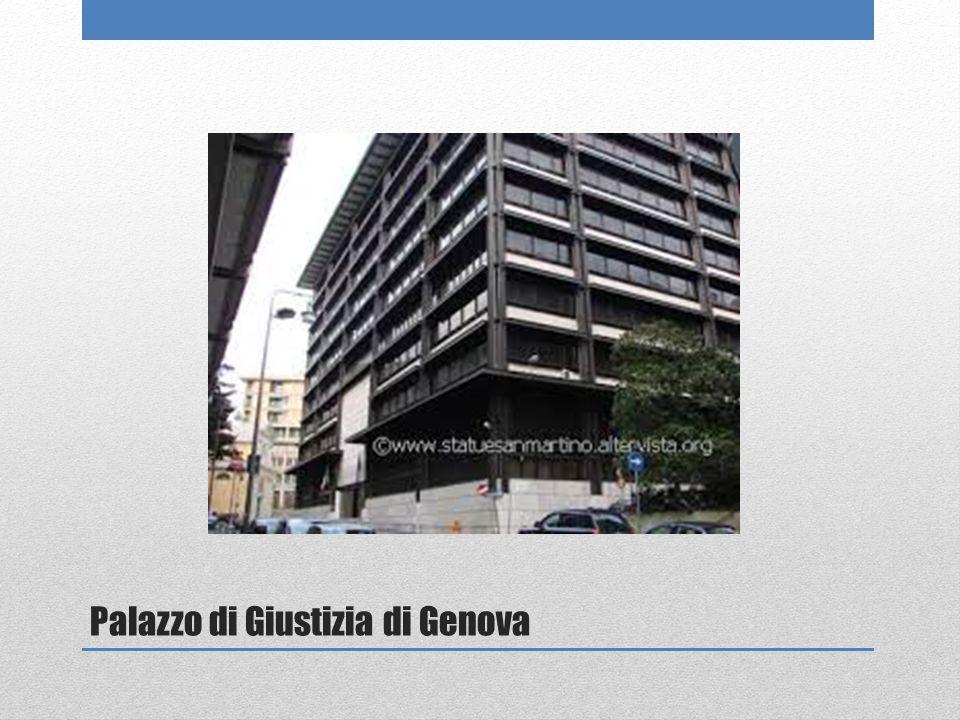 Palazzo di Giustizia di Genova
