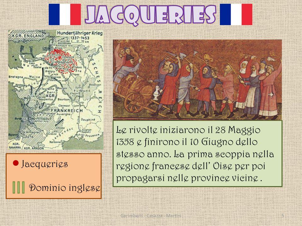 Le rivolte iniziarono il 28 Maggio 1358 e finirono il 10 Giugno dello stesso anno.