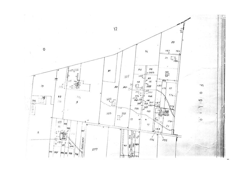 STATO ATTUALE DEL LOTTO aerofotogrammetrico 1:1.000