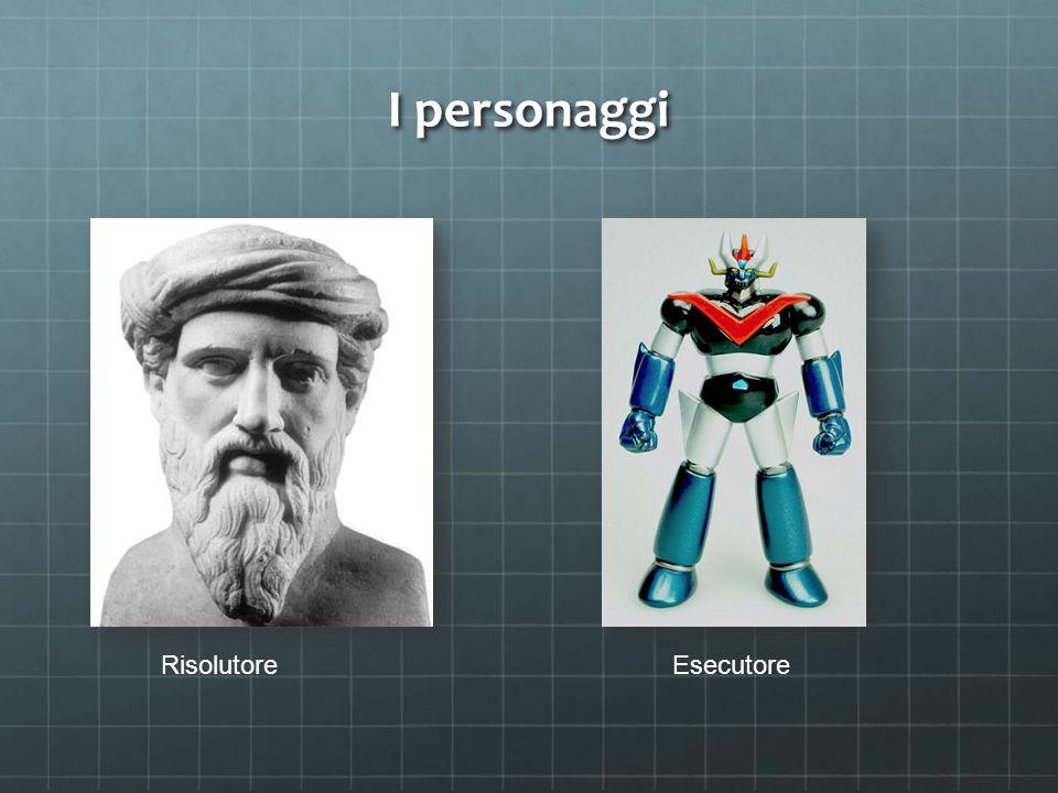 I personaggi RisolutoreEsecutore