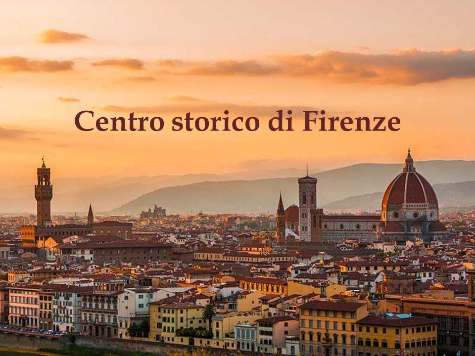 Centro storico di Firenze Il centro storico è direttamente o materialmente legato ad eventi o tradizioni in vita, con idee, con credi, con lavori artistici o letterari d eccezionale valore universale.