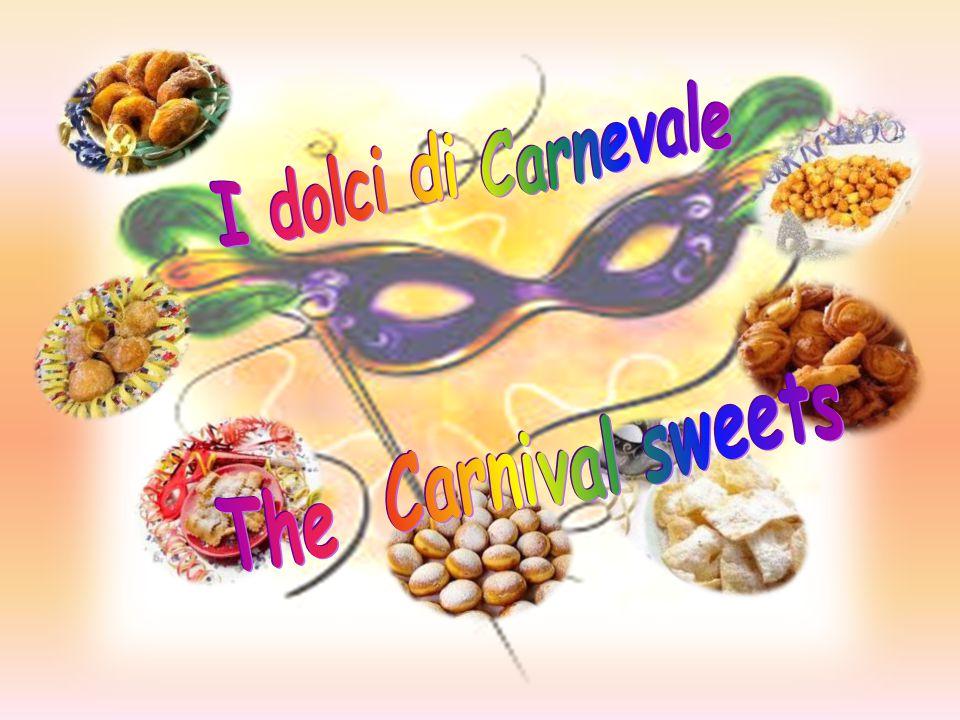 La cicerchiata nelle Marche, è legata alla ricorrenza del Carnevale ma è diffusa anche in Umbria e, tramite l immigrazione interna da queste regioni, a Roma.
