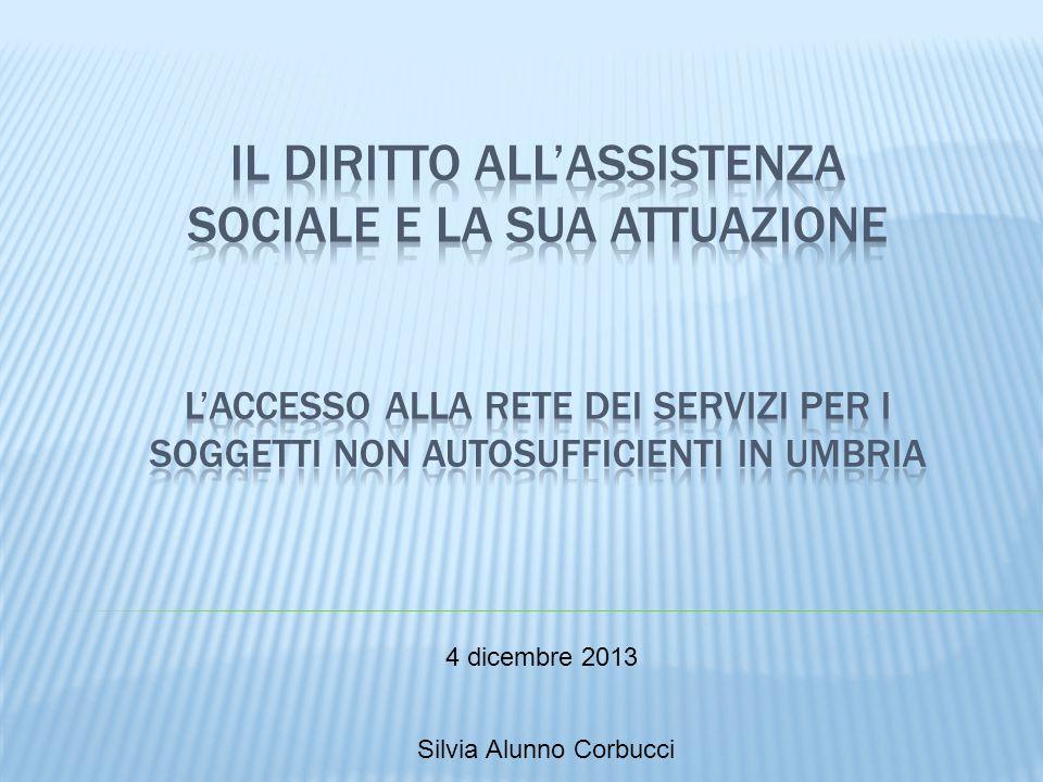 4 dicembre 2013 Silvia Alunno Corbucci