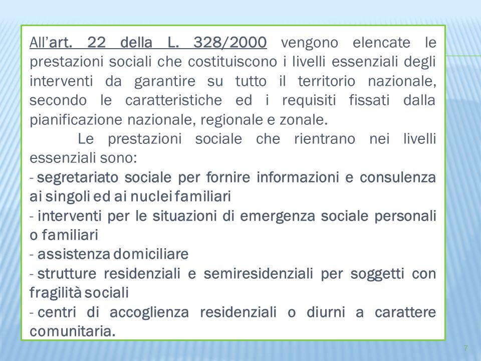 OGGETTO: Istituzione Fondo regionale per la non autosufficienza, finalizzato ad incrementare il sistema di protezione sociale e di cura delle persone non autosufficienza e delle relative famiglie (integrazione alla copertura finanziaria per la quota di parte sociale delle prestazioni sociosanitarie).