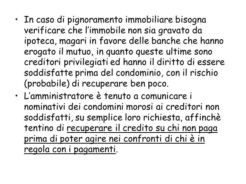 Riferimenti giurisprudenziali Il rendiconto deve: 1.Evidenziare le voci di entrata e di uscita, con le quote di ripartizione (Cass.