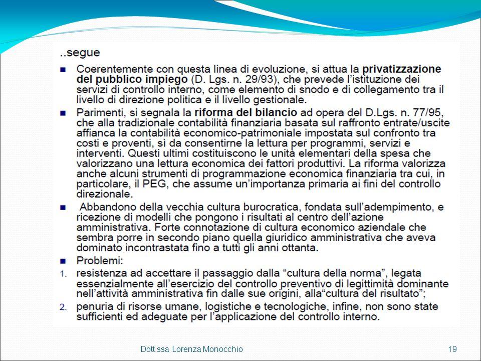 Dott.ssa Lorenza Monocchio19