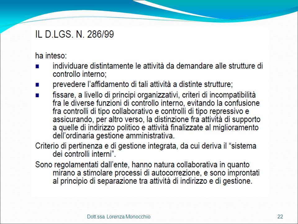 Dott.ssa Lorenza Monocchio22
