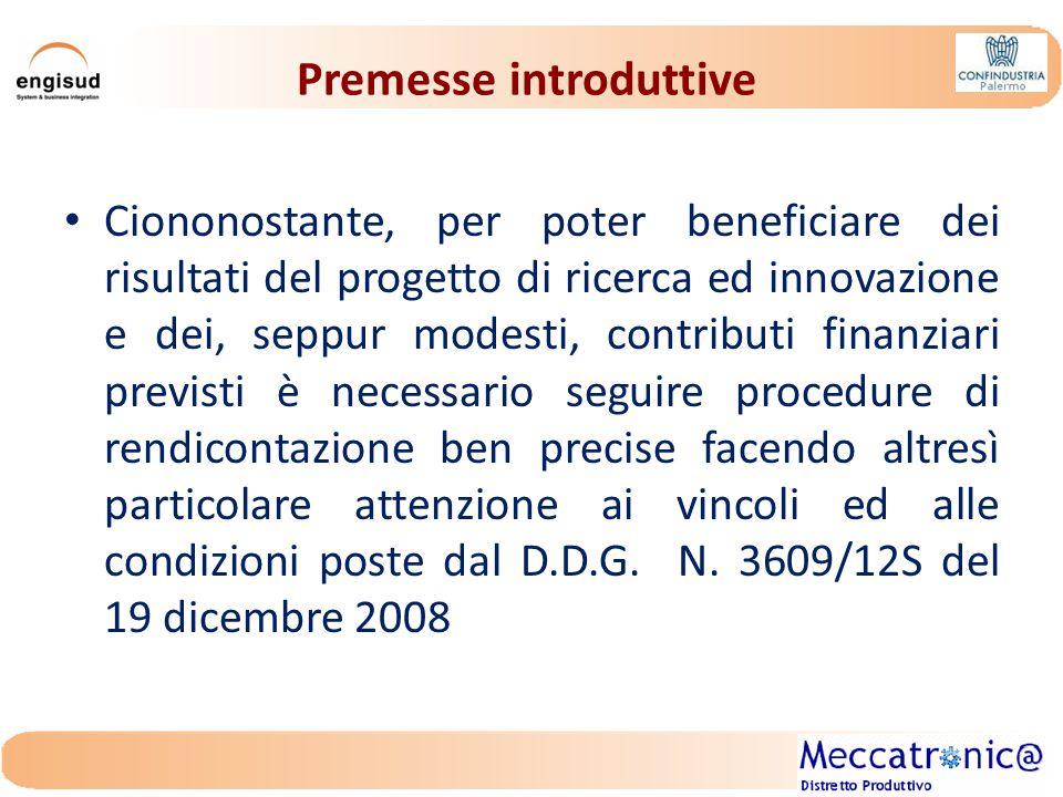 Premesse introduttive Il presente contributo ha pertanto l'obbiettivo di riassumere benefici, procedure, vincoli e condizioni del Decreto di Concessione delle agevolazioni