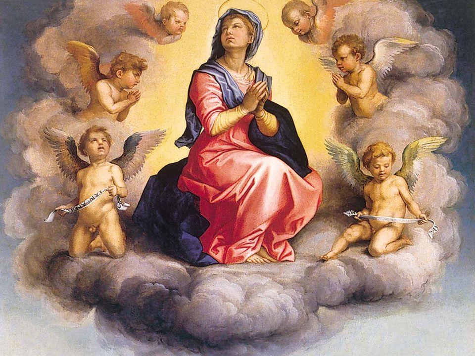 Così, giorno dopo giorno, nel silenzio della vita ordinaria, Maria ha continuato a custodire nel suo cuore i successivi eventi mirabili di cui è stata