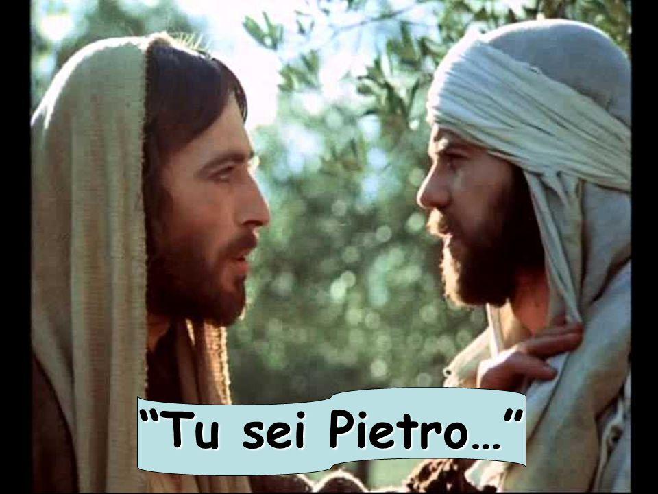 """""""Tu sei Pietro…"""""""