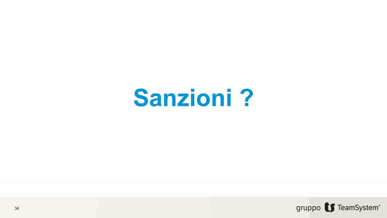 Sanzioni ? 34