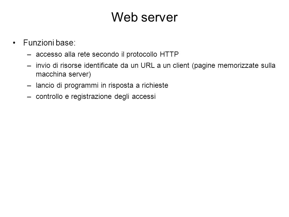 Web server (cont.) http://news.netcraft.com