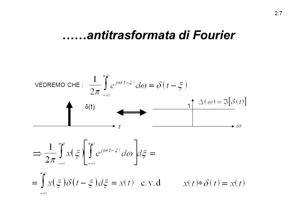 2.18 IN PRIMA APPROSSIMAZIONE : DOVE E'  0 (O COMUNQUE DOVE E' SIGNIFICATIVAMENTE  0).
