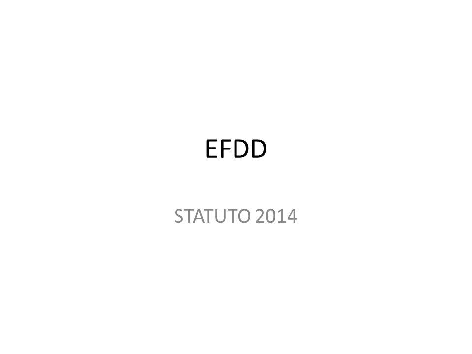EFDD STATUTO 2014