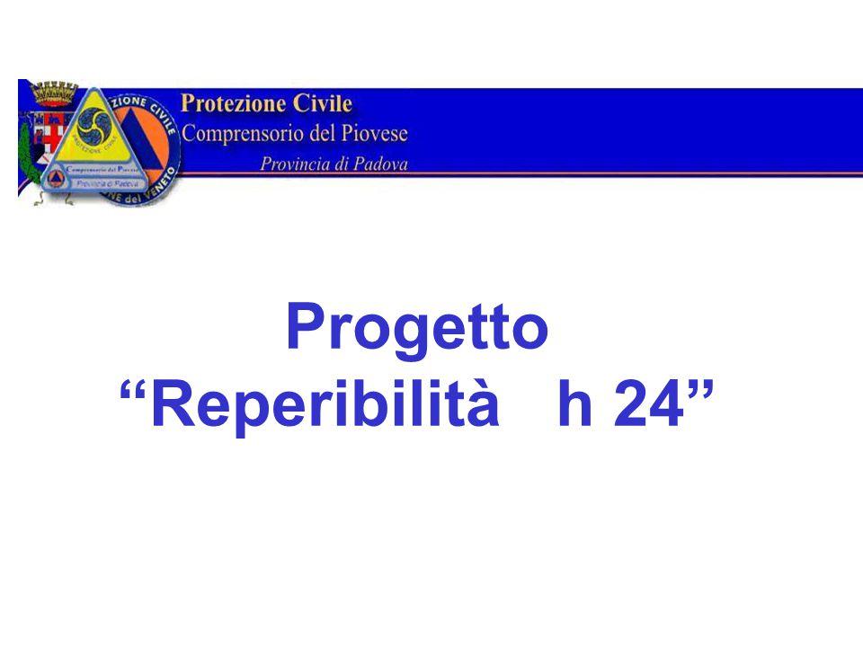 Progetto Reperibilità h 24